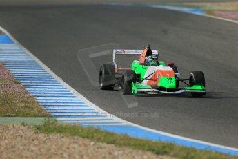 World © Octane Photographic Ltd. Eurocup Formula Renault 2.0 Championship testing. Jerez de la Frontera, Thursday 27th March 2014. Manor MP Motorsports – Andrea Pizzitola. Digital Ref :  0900lb1d1116
