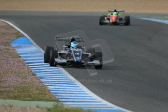 World © Octane Photographic Ltd. Eurocup Formula Renault 2.0 Championship testing. Jerez de la Frontera, Thursday 27th March 2014. Josef Kaufmann Racing – Ryan Tveter. Digital Ref :  0900lb1d1159