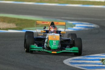 World © Octane Photographic Ltd. Eurocup Formula Renault 2.0 Championship testing. Jerez de la Frontera, Thursday 27th March 2014. Manor MP Motorsports – Steijn Schothorst. Digital Ref :  0900lb1d1430