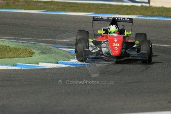 World © Octane Photographic Ltd. Eurocup Formula Renault 2.0 Championship testing. Jerez de la Frontera, Thursday 27th March 2014. Prema Powerteam – Bruno Bonifacio. Digital Ref :  0900lb1d1437