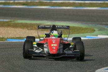 World © Octane Photographic Ltd. Eurocup Formula Renault 2.0 Championship testing. Jerez de la Frontera, Thursday 27th March 2014. Prema Powerteam – Bruno Bonifacio. Digital Ref :  0900lb1d1441