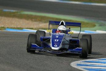 World © Octane Photographic Ltd. Eurocup Formula Renault 2.0 Championship testing. Jerez de la Frontera, Thursday 27th March 2014. Koiranen GP – Nicholas Surguladze. Digital Ref :  0900lb1d1483