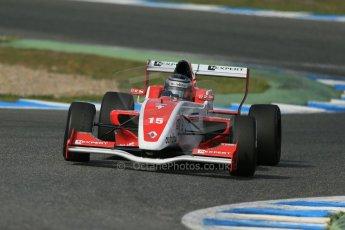 World © Octane Photographic Ltd. Eurocup Formula Renault 2.0 Championship testing. Jerez de la Frontera, Thursday 27th March 2014. Josef Kaufmann Racing – Kevin Joerg. Digital Ref : 0900lb1d1491