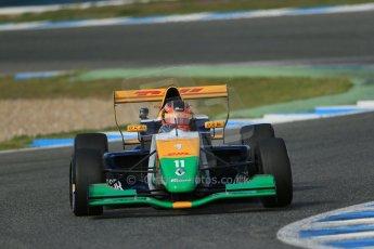 World © Octane Photographic Ltd. Eurocup Formula Renault 2.0 Championship testing. Jerez de la Frontera, Thursday 27th March 2014. Manor MP Motorsports – Steijn Schothorst. Digital Ref :  0900lb1d1503