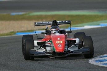 World © Octane Photographic Ltd. Eurocup Formula Renault 2.0 Championship testing. Jerez de la Frontera, Thursday 27th March 2014. Prema Powerteam – Alex Bosak. Digital Ref :  0900lb1d1521