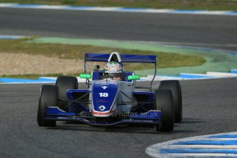 World © Octane Photographic Ltd. Eurocup Formula Renault 2.0 Championship testing. Jerez de la Frontera, Thursday 27th March 2014. Koiranen GP – Ignazia D'Agosto. Digital Ref :  0900lb1d1533
