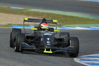 World © Octane Photographic Ltd. Eurocup Formula Renault 2.0 Championship testing. Jerez de la Frontera, Thursday 27th March 2014. KTR – Jules Gounon. Digital Ref :  0900lb1d1542