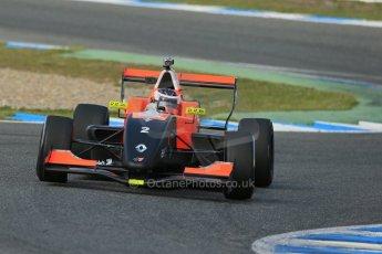 World © Octane Photographic Ltd. Eurocup Formula Renault 2.0 Championship testing. Jerez de la Frontera, Thursday 27th March 2014. Tech 1 Racing – Vasily Romanov. Digital Ref :  0900lb1d1571