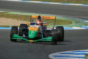 World © Octane Photographic Ltd. Eurocup Formula Renault 2.0 Championship testing. Jerez de la Frontera, Thursday 27th March 2014. Manor MP Motorsports – Steijn Schothorst. Digital Ref : 0900lb1d1586