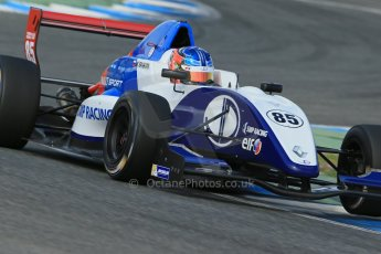 World © Octane Photographic Ltd. Eurocup Formula Renault 2.0 Championship testing. Jerez de la Frontera, Thursday 27th March 2014. JD Motorsport – Metevos Isaakyan. Digital Ref :  0900lb1d1602