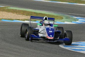 World © Octane Photographic Ltd. Eurocup Formula Renault 2.0 Championship testing. Jerez de la Frontera, Thursday 27th March 2014. Koiranen GP – Ignazia D'Agosto. Digital Ref :  0900lb1d1610
