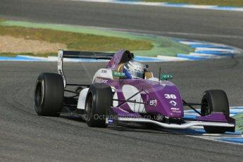 World © Octane Photographic Ltd. Eurocup Formula Renault 2.0 Championship testing. Jerez de la Frontera, Thursday 27th March 2014. China BRT by JCS – Matheo Tuscher. Digital Ref :  0900lb1d1633
