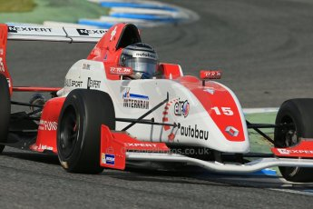 World © Octane Photographic Ltd. Eurocup Formula Renault 2.0 Championship testing. Jerez de la Frontera, Thursday 27th March 2014. Josef Kaufmann Racing – Kevin Joerg. Digital Ref : 0900lb1d1645