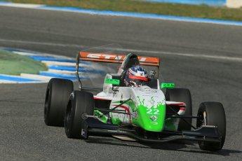 World © Octane Photographic Ltd. Eurocup Formula Renault 2.0 Championship testing. Jerez de la Frontera, Thursday 27th March 2014. Prema Powerteam – Dennis Olsen. Digital Ref :  0900lb1d1777