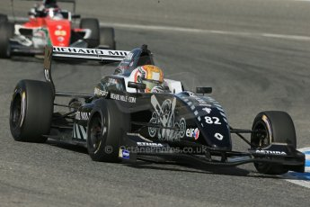 World © Octane Photographic Ltd. Eurocup Formula Renault 2.0 Championship testing. Jerez de la Frontera, Thursday 27th March 2014. Fortec Motorsports – Charles Leclerc. Digital Ref :  0900lb1d1805