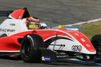 World © Octane Photographic Ltd. Eurocup Formula Renault 2.0 Championship testing. Jerez de la Frontera, Thursday 27th March 2014. Fortec Motorsports – Jack Aitken. Digital Ref :  0900lb1d1846