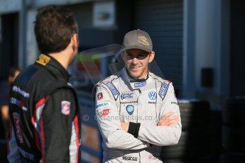 World © Octane Photographic Ltd. FIA Formula E testing Donington Park 10th July 2014. Andretti Autosport – Scott Speed and Franck Montagny. Digital Ref : 1032CB1D3309
