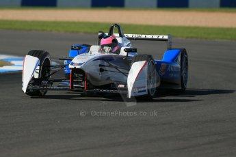 World © Octane Photographic Ltd. FIA Formula E testing Donington Park 10th July 2014. Spark-Renault SRT_01E. Andretti Autosport - Franck Montagny. Digital Ref : 1032CB1D3332