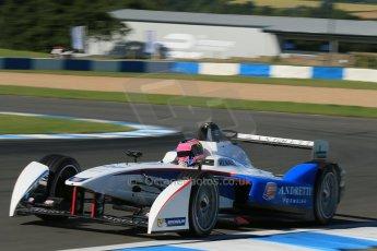 World © Octane Photographic Ltd. FIA Formula E testing Donington Park 10th July 2014. Spark-Renault SRT_01E. Andretti Autosport - Franck Montagny. Digital Ref : 1032CB1D3372
