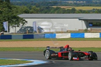 World © Octane Photographic Ltd. FIA Formula E testing Donington Park 10th July 2014. Spark-Renault SRT_01E. Venturi - Nick Heidfeld. Digital Ref : 1032CB1D3387