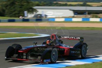 World © Octane Photographic Ltd. FIA Formula E testing Donington Park 10th July 2014. Spark-Renault SRT_01E. Venturi - Nick Heidfeld. Digital Ref : 1032CB1D3390