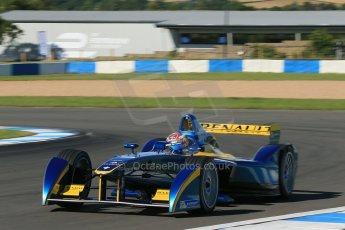 World © Octane Photographic Ltd. FIA Formula E testing Donington Park 10th July 2014. Spark-Renault SRT_01E. e.dams-Renault - Sebastien Buemi . Digital Ref : 1032CB1D3394