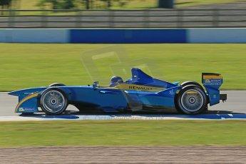 World © Octane Photographic Ltd. FIA Formula E testing Donington Park 10th July 2014. Spark-Renault SRT_01E. e.dams-Renault – Nicolas Prost. Digital Ref : 1032CB1D3429