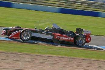 World © Octane Photographic Ltd. FIA Formula E testing Donington Park 10th July 2014. Mahindra Racing - Bruno Senna. Digital Ref : 1032CB1D3448