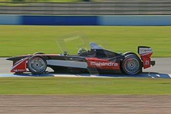 World © Octane Photographic Ltd. FIA Formula E testing Donington Park 10th July 2014. Mahindra Racing - Bruno Senna. Digital Ref : 1032CB1D3451