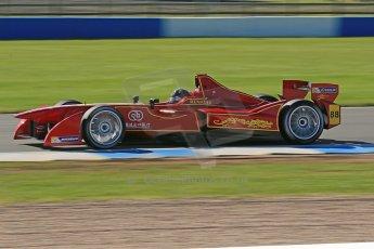 World © Octane Photographic Ltd. FIA Formula E testing Donington Park 10th July 2014. Spark-Renault SRT_01E. China Racing - Jerome D'Ambrosio. Digital Ref : 1032CB1D3461