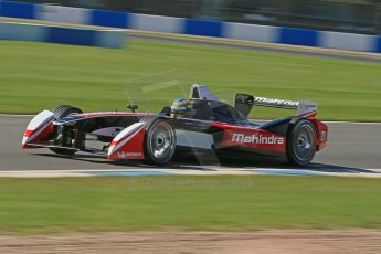 World © Octane Photographic Ltd. FIA Formula E testing Donington Park 10th July 2014. Mahindra Racing - Bruno Senna. Digital Ref : 1032CB1D3511