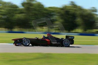 World © Octane Photographic Ltd. FIA Formula E testing Donington Park 10th July 2014. Spark-Renault SRT_01E. Venturi - Nick Heidfeld. Digital Ref : 1032CB1D3620