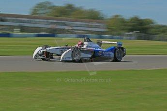 World © Octane Photographic Ltd. FIA Formula E testing Donington Park 10th July 2014. Spark-Renault SRT_01E. Andretti Autosport - Franck Montagny. Digital Ref : 1032CB1D3669