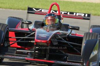 World © Octane Photographic Ltd. FIA Formula E testing Donington Park 10th July 2014. Spark-Renault SRT_01E. Venturi - Nick Heidfeld. Digital Ref : 1032CB1D3983