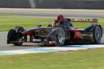 World © Octane Photographic Ltd. FIA Formula E testing Donington Park 10th July 2014. Spark-Renault SRT_01E. Venturi - Nick Heidfeld. Digital Ref : 1032CB1D4173