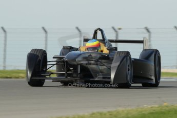 World © Octane Photographic Ltd. FIA Formula E testing Donington Park 10th July 2014. Spark-Renault SRT_01E. Dragon Racing – Mike Conway. Digital Ref : 1032CB1D4200