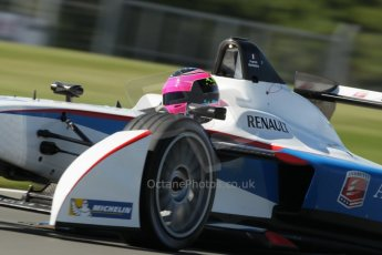 World © Octane Photographic Ltd. FIA Formula E testing Donington Park 10th July 2014. Spark-Renault SRT_01E. Andretti Autosport - Franck Montagny. Digital Ref : 1032CB1D4284