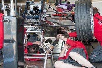 World © MountersPhotography/OctanePhotos.co.uk. FIA Formula E testing Donington Park 9th July 2014. Spark-Renault SRT_01E. Virgin Racing - Sam Bird. Digital Ref : 1031JM1D0003