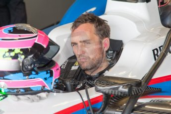World © MountersPhotography/OctanePhotos.co.uk. FIA Formula E testing Donington Park 9th July 2014. Spark-Renault SRT_01E. Andretti Autosport - Franck Montagny. Digital Ref : 1031JM1D0024