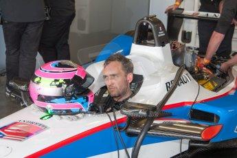 World © MountersPhotography/OctanePhotos.co.uk. FIA Formula E testing Donington Park 9th July 2014. Spark-Renault SRT_01E. Andretti Autosport - Franck Montagny. Digital Ref : 1031JM1D0025