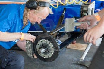 World © MountersPhotography/OctanePhotos.co.uk. FIA Formula E testing Donington Park 9th July 2014. Spark-Renault SRT_01E. Amlin Aguri – Fabio Leimer. Digital Ref : 1031JM1D0059