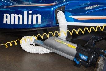 World © MountersPhotography/OctanePhotos.co.uk. FIA Formula E testing Donington Park 9th July 2014. Spark-Renault SRT_01E. Amlin Aguri – Fabio Leimer. Digital Ref : 1031JM1D0060