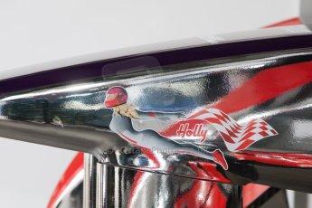 World © MountersPhotography/OctanePhotos.co.uk. FIA Formula E testing Donington Park 9th July 2014. Spark-Renault SRT_01E. Virgin Racing (Holly) - Jamie Alguersuari. Digital Ref : 1031JM1D0303