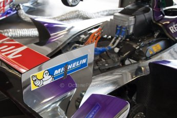 World © MountersPhotography/OctanePhotos.co.uk. FIA Formula E testing Donington Park 9th July 2014. Spark-Renault SRT_01E. Virgin Racing (Holly) - Jamie Alguersuari. Digital Ref : 1031JM1D0311