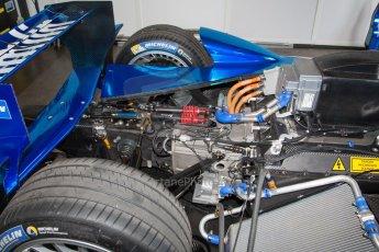 World © MountersPhotography/OctanePhotos.co.uk. FIA Formula E testing Donington Park 9th July 2014. Spark-Renault SRT_01E. Amlin Aguri – Fabio Leimer. Digital Ref : 1031JM1D9937