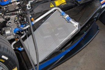 World © MountersPhotography/OctanePhotos.co.uk. FIA Formula E testing Donington Park 9th July 2014. Spark-Renault SRT_01E. Amlin Aguri – Fabio Leimer. Digital Ref : 1031JM1D9939