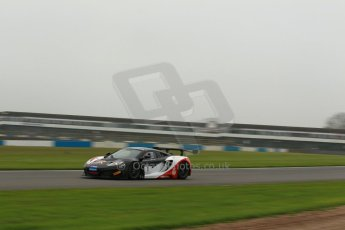 World © Octane Photographic Ltd. Donington Park General testing, Thursday 24th April 2014. McLaren MP4-13 GT3 - United Autosports - Jim Geddie - GT Cup Championship. Digital Ref : 0913lb1d1885