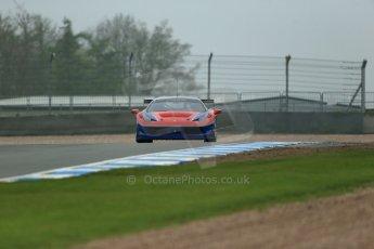 World © Octane Photographic Ltd. Donington Park General testing, Thursday 24th April 2014. Ferrari 458 Italia - F.F.Corse. Digital Ref : 0913lb1d8573