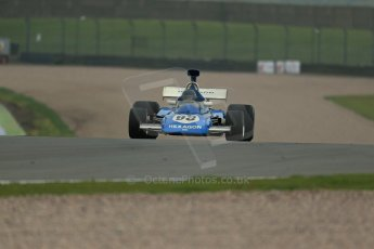World © Octane Photographic Ltd. Donington Park General testing, Thursday 24th April 2014. Ex-John Watson March Cosworth 721 - Goldie Hexagon Racing (F1 non-championship event at Brands Hatch in 1972). Digital Ref : 0913lb1d8898