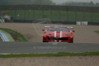 World © Octane Photographic Ltd. Donington Park General testing, Thursday 24th April 2014. Ferrari 458 Italia. Digital Ref : 0913lb1d8914